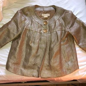 Micheal Kors two button Gold Spring jacket